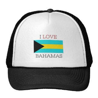 I love bahamas trucker hat