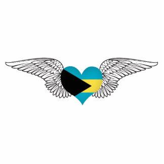 I Love Bahamas -wings Photo Cutouts