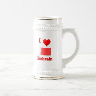 I Love Bahrain Beer Stein