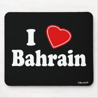 I Love Bahrain Mouse Pad