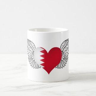 I Love Bahrain -wings Coffee Mugs