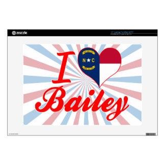I Love Bailey, North Carolina Laptop Skin