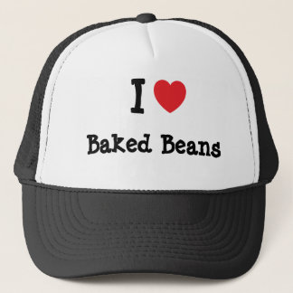 I love Baked Beans heart T-Shirt Trucker Hat