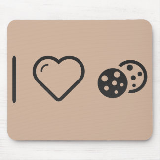 I Love baked cookies Mouse Pad