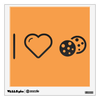 I Love baked cookies Wall Decor