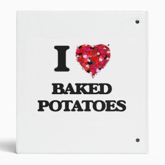 I love Baked Potatoes Binders