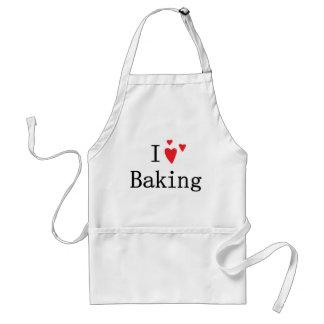 I Love Baking Adult Apron