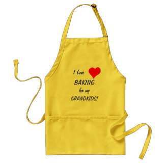 I Love Baking! - apron