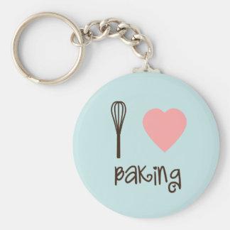 I Love Baking Key Chain