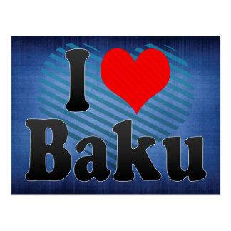 I Love Baku, Azerbaijan Postcard