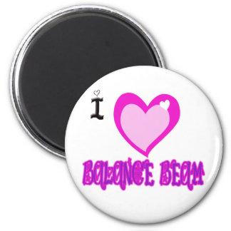 I LOVE Balance Beam Magnet
