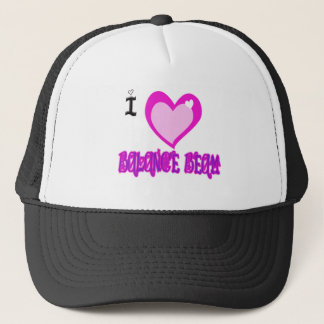 I LOVE Balance Beam Trucker Hat