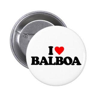 I LOVE BALBOA BUTTON