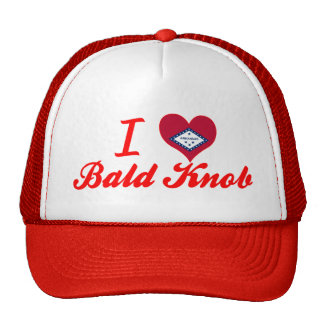 I Love Bald Knob Arkansas Mesh Hat