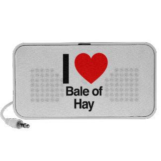 i love bale of hay notebook speakers