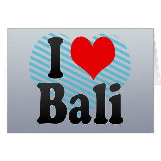 I Love Bali India Mera Pyar Bali India Cards
