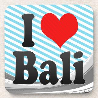 I Love Bali India Mera Pyar Bali India Drink Coasters