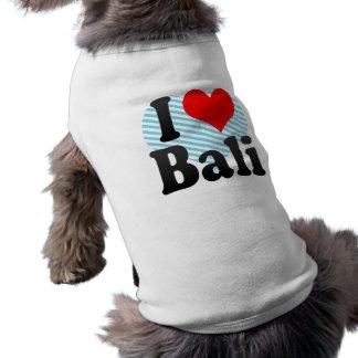 I Love Bali India Mera Pyar Bali India Doggie T Shirt