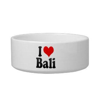 I Love Bali India Mera Pyar Bali India Cat Bowls