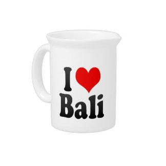 I Love Bali India Mera Pyar Bali India Pitcher