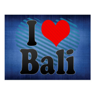 I Love Bali India Mera Pyar Bali India Postcards