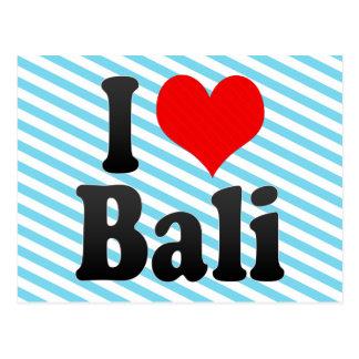I Love Bali India Mera Pyar Bali India Postcard