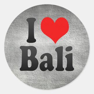 I Love Bali India Mera Pyar Bali India Round Sticker