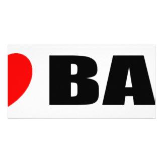 I Love Bali, Indonesia Card