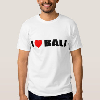 I Love Bali, Indonesia Shirt