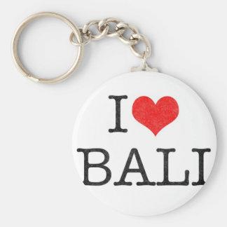I LOVE BALI KEY CHAIN