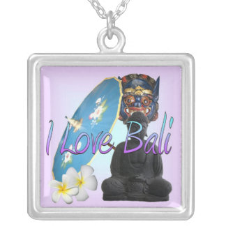 I Love Bali Personalized Necklace