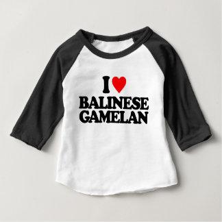 I LOVE BALINESE GAMELAN BABY T-Shirt