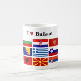 I Love Balkan Coffee Mug