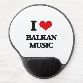 I Love BALKAN MUSIC Gel Mouse Pad
