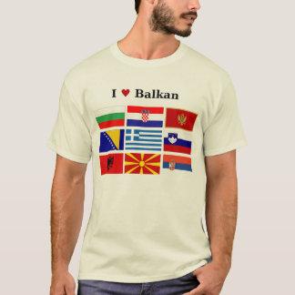 I Love Balkan T-Shirt