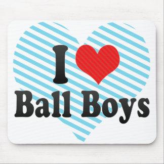 I Love Ball Boys Mouse Pad