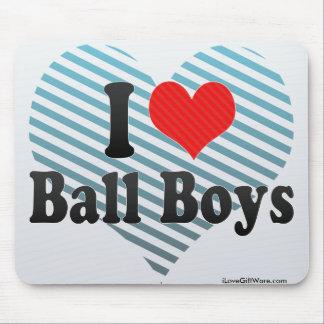 I Love Ball Boys Mousepad