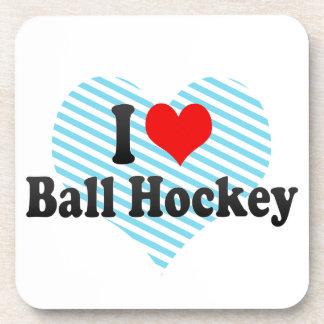 I love Ball Hockey Coasters