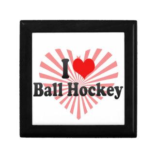 I love Ball Hockey Keepsake Boxes