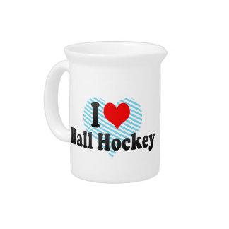 I love Ball Hockey Pitcher