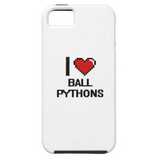 I love Ball Pythons Digital Design iPhone 5 Case