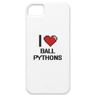I love Ball Pythons Digital Design iPhone 5 Cover