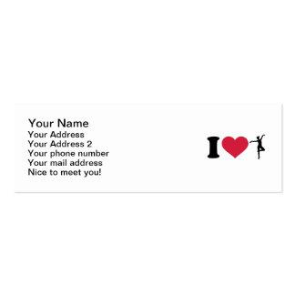 I love Ballerina dancing Business Card