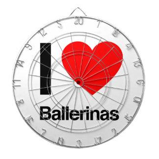 i love ballerinas dart board