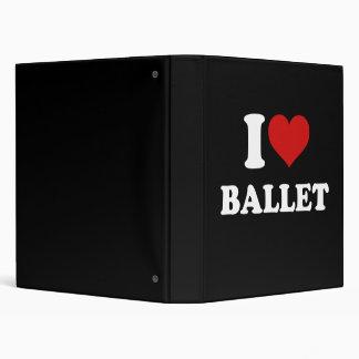 I Love Ballet Binder