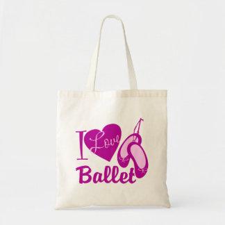 I Love Ballet Budget Tote Bag