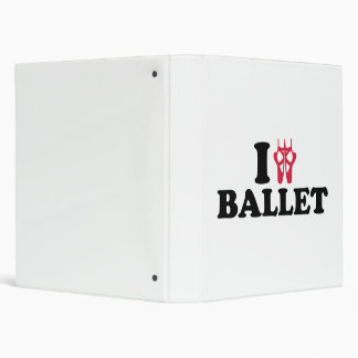 I love Ballet feet Binders