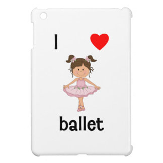 I love ballet cover for the iPad mini