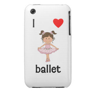 I love ballet iPhone 3 covers