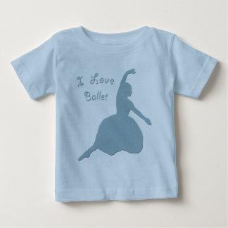 I Love Ballet Tee Shirt
